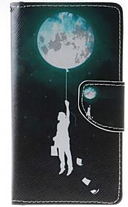 풀 바디 카드 홀더 / 지갑 / 충격방지 / 먼지방지 / 스탠드 풍선 인조 가죽 소프트 Wallet/With Stand 케이스 커버를 들어 HTC HTC Desire 626