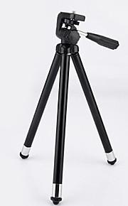 rustfrit stål stativ kamera holder fiskeri natfiskeri let aluminium stativ fotografering