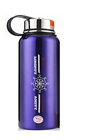 WBL Stainless Steel Water Bottle Silver / Purple
