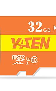 yisen 32GB UHS-I u1 / klasse 10 microSD / microSDHC / microSDXC / tfmax læse speed80 (mb / s)