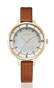 kezzi 2016 new arrvial shell dial fashion women quartz watch 1378