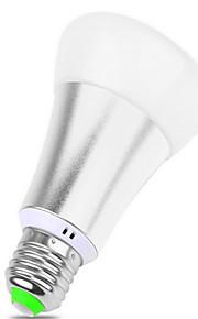 10 E26/E27 Smart LED-lampa BR 12 SMD 5050 900 lm RGB Dimbar / Fjärrstyrd / Dekorativ AC 85-265 V 1 st