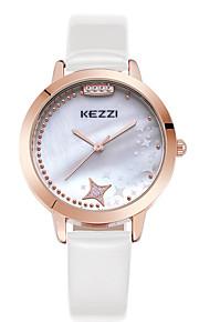Mulheres Relógio de Moda / Relógio de Pulso Quartz / Couro Banda Legal / Casual Preta / Branco / Azul / Rosa / Rose marca
