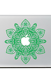 Green Flower Decorative Skin Sticker Decal for MacBook Air/Pro/Pro with Retina
