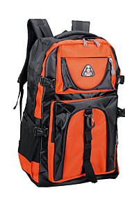60 L Tourenrucksäcke/Rucksack Camping & Wandern Draußen Wasserdicht / tragbar / Atmungsaktiv Rot / Blau / Orange Oxford other