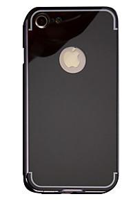 Skal Spegel Solid Färg Metall Hård Fallet täcker för Apple iPhone 7 Plus / iPhone 7 / iPhone 6s Plus/6 Plus / iPhone 6s/6 / iPhone SE/5s/5