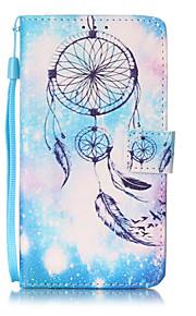 Ganzkörper Brieftasche / Kartenhalter / mit Ständer / Flip / Muster Traumfänger PU - Leder Hart Fall-Abdeckung für LG LG K7