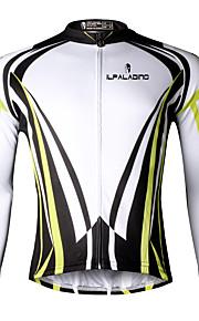 Ilpaladin Sport Men Long Sleeve Cycling Jerseys  CX707 Yellow Cool