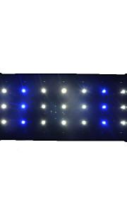 Akvaryum Dekorasyonu Beyaz / Mavi Gürültüsüz Plastik 12W