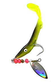 6.2g / PC Soft Bait Lures Sequins Fishing Bait Fishing Gear Bionic Lure Fishing Tackle 1PC