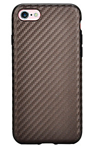 Skal Stötsäker Solid Färg TPU Mjuk Fallet täcker för Apple iPhone 7 Plus / iPhone 7 / iPhone 6s Plus/6 Plus / iPhone 6s/6