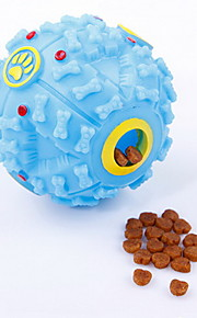 Dog Toy Pet Toys Ball / Chew Toy Squeak / Squeaking / Food Dispenser Rubber Random Color
