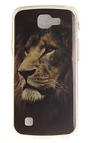 Per retro IMD / A fantasia Fantasia animale TPU Morbido Copertura di caso per LG LG K10 / LG K8 / LG K7 / LG K4