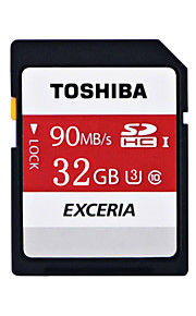 Toshiba 32gb Class10 90 MB / s UHS-U1 originales cámara SD / tarjeta de memoria SDHC