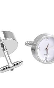 SAVOYSHIMen's Cufflinks Watch Work Multi-functional French Cufflinks for Wedding and Gift Jewelry