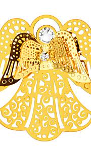 høj kvalitet populære 18k forgyldt krystal engel sikkerhedsafbryder broche for kvinder bryllup og fest gave x30012