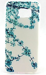EFORCASE Painted Wintersweet TPU Phone Case for Samsung Galaxy S7 edge S7 S6