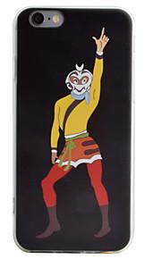 Coque Transparents / Motif Dessin-Animé TPU Doux Couverture de cas pour Apple iPhone 6s Plus/6 Plus / iPhone 6s/6 / iPhone SE/5s/5