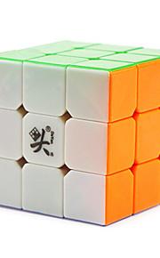 / apaziguadores do stress / Cubos Mágicos 3*3*3 / Cube velocidade lisa Arco-Íris Plástico Brinquedos