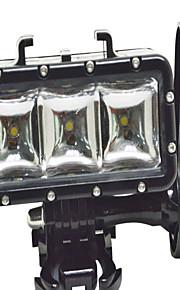 GoPro välineet Spot Light LED Varten Gopro Hero 3 / Gopro Hero 3+ Vedenkestävä Universaali / Sukellus / Others 10000 synteettinen