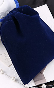 Smykketasker Stof 1pc Blå