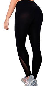 Yoga-Hose Strumpfhosen/Lange Radhose / Unten Atmungsaktiv / Rasche Trocknung / Videokompression / Komfortabel Normal Hochelastisch