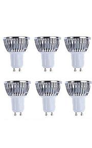 5W GU10 LED-spotpærer MR16 KWB COB 420 lm Varm hvit / Kjølig hvit Vanntett V 10 stk.