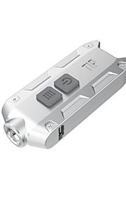 Valaistus Avaimenperävalaisimet LED 360 Lumenia 4.0 Tila XP-G2 Litium-paristo Himmennettävä / ladattava / Kompakti koko / Pienikokoiset