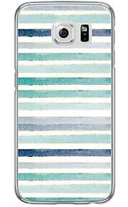 For Ultratyndt / Gennemsigtig Etui Bagcover Etui Mosaik mønster Blødt TPU Samsung S7 edge / S7 / S6 edge plus / S6 edge / S6 / S5 / S4