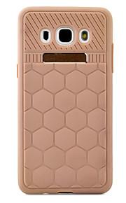 ל מובלט מגן כיסוי אחורי מגן צבע אחיד רך TPU Samsung J5 (2016)