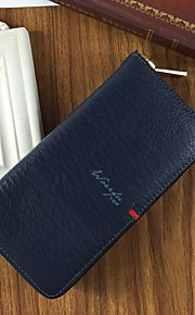 Travel Wallet Passport Holder & ID Holder Waterproof Dust Proof Portable for Travel StorageBlack Dark Blue Coffee Brown