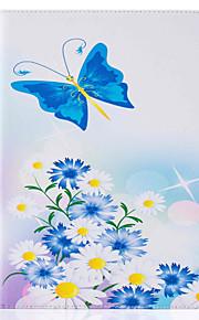 Für Kreditkartenfächer / mit Halterung / Flipbare Hülle / Muster Hülle Handyhülle für das ganze Handy Hülle Schmetterling Hart PU - Leder