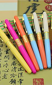 Students Practice Calligraphy Pen