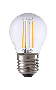4W E26/E27 LED-glødepærer P45 4 COB 300 lm Varm hvit Dekorativ V 1 stk.