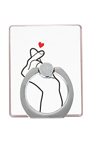 Phone Holder Stand Mount Desk / Outdoor Ring Holder / 360° Rotation Plastic for Mobile Phone
