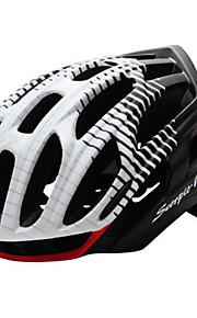 Unisex-Dağ / Spor-Bisiklete biniciliği / Dağ Bisikletçiliği / Yol Bisikletçiliği / Eğlence Bisikletçiliği-Kask(Beyaz / Kırmızı / Siyah /