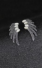 mode vintage udhule opal vinger broche