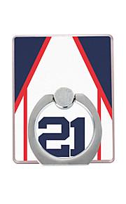 Baseball jacket Pattern Plastic  Ring Holder / 360 Rotating for Mobile Phone