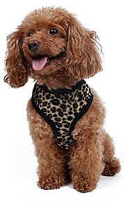 Dog Harness / Leash Adjustable/Retractable / Breathable / Running / Vest / Safety / Cosplay / Soft / Casual Leopard / ZebraWhite /