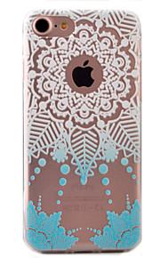 For Etui iPhone 7 / Etui iPhone 7 Plus / Etui iPhone 6 Mønster Etui Bakdeksel Etui Drømmefanger Myk TPU AppleiPhone 7 Plus / iPhone 7 /