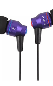 AWEI ES-800i Ecouteurs Boutons (Semi Intra-Auriculaires)ForLecteur multimédia/Tablette / Téléphone portable / OrdinateursWithRéduction de