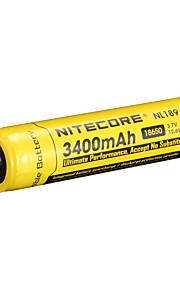 nitecore nl189 3400mah 3.7v 12.6wh 18650 li-ion akku