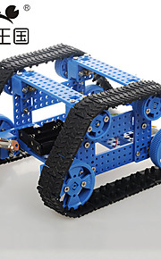 Crab Kingdom DIY Assembled Toy Combination With Remote Control High Torque Motor Trapezoidal Crawler Chariot on The 28 Th