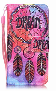 Dream Catcher Painting PU Phone Case for apple iTouch 5 6