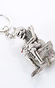 europa e os estados unidos de alto grau de qualidade da corrente chave criativa boutique do esqueleto vaso sanitário pendurar porta-chaves