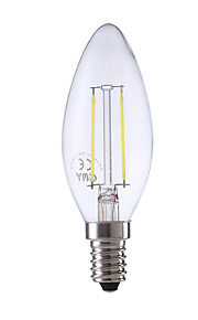 2W E14 LED-glødepærer B 2 COB 250 lm Varm hvit / Kjølig hvit AC 220-240 V 1 stk.