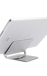 Tablet PC & Mobile Phone Stand Holder 360 Degree Rotate Aluminum Alloy Desktop Lazy Support Folding Detachable Bracket Durable