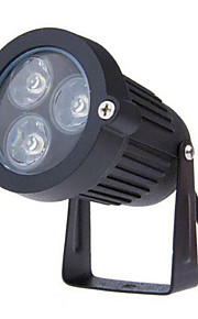 3W LED outdoor gazon AC85-265V lamp kleine driehoek insert lamp