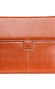 För Korthållare fodral Heltäckande fodral Enfärgat Mjukt Äkta läder för Apple iPad Air 2 / iPad Air