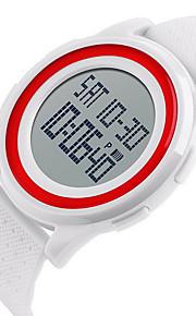 Masculino / Unissex Relógio Esportivo / Relógio de Pulso DigitalLCD / Calendário / Impermeável / Dois Fusos Horários / alarme / Luminoso